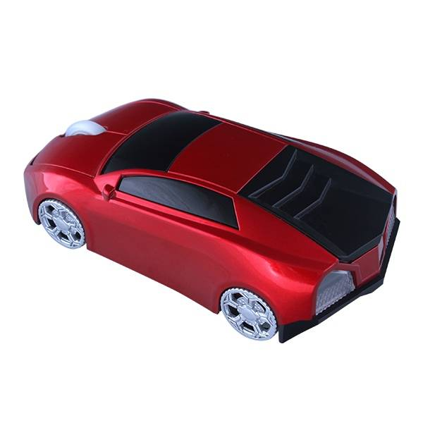 Promotional gift 2.4GHz Wireless Optical Sports Car Mouse