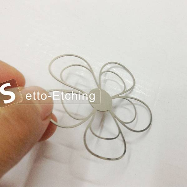 Wholesale craft metal flower for decoration
