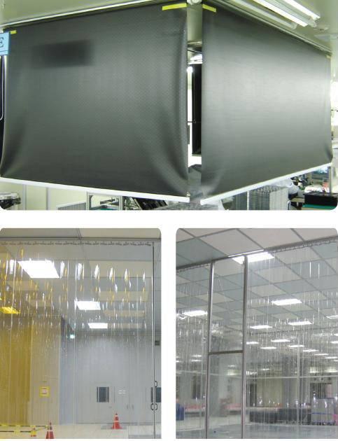 ESD PVC Curtain Film
