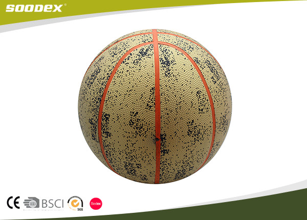 Best Selling Promotional Colorful Ball Rubber Basketball size 7#