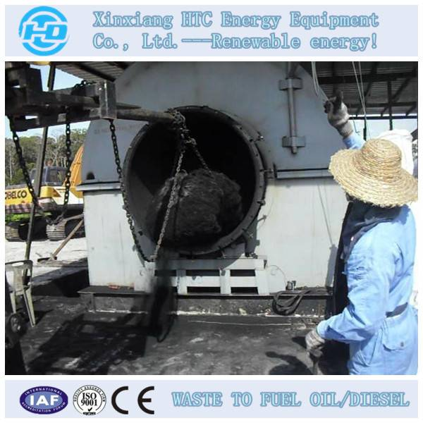 tyre recycling machine to oil