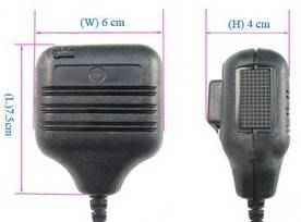 Two way radio headset > Speaker microphone > SC-VD-SM6