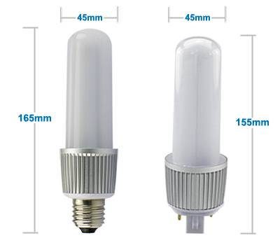 /5W/7W/9W12W/16W G24/ E27 LED plug Tube bulbs