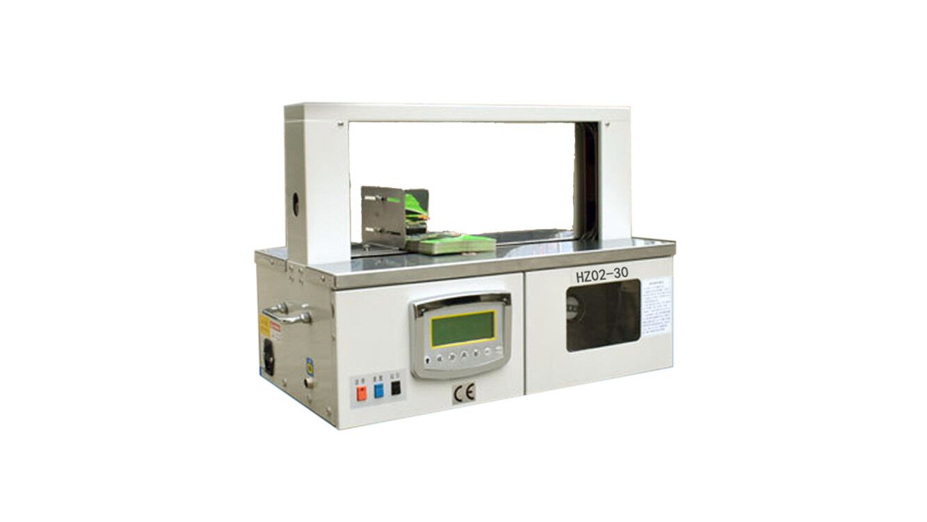 Automatic OPP Film and Paper Tape Banding Wrapping Machine