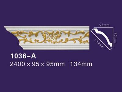 Auuan PU carved crown  moulding 1036-A