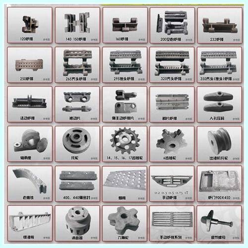 Spare Parts To Boilers