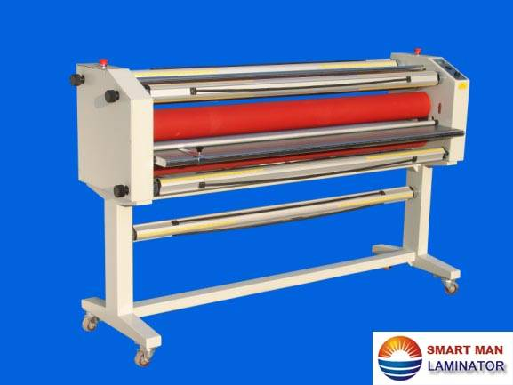 Smart Man Large Format Cold/Hot roll Laminator/Laminating Machine With Stand