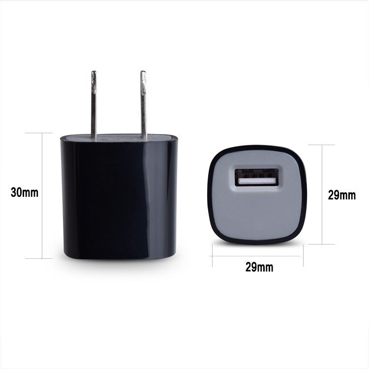 Usb ac adapter charger plug 5v 1a usb power adapter from Aotman