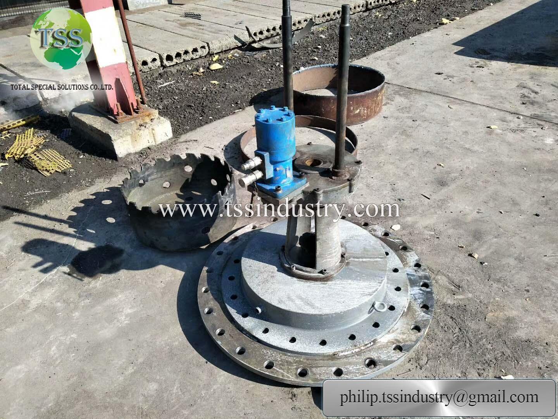 Leak repair clamps