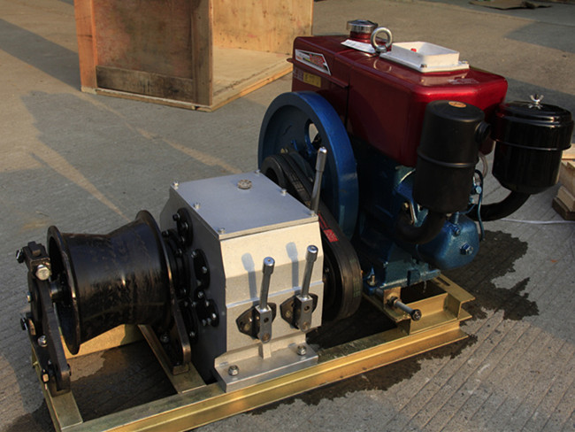 5T Engine Powered Winch