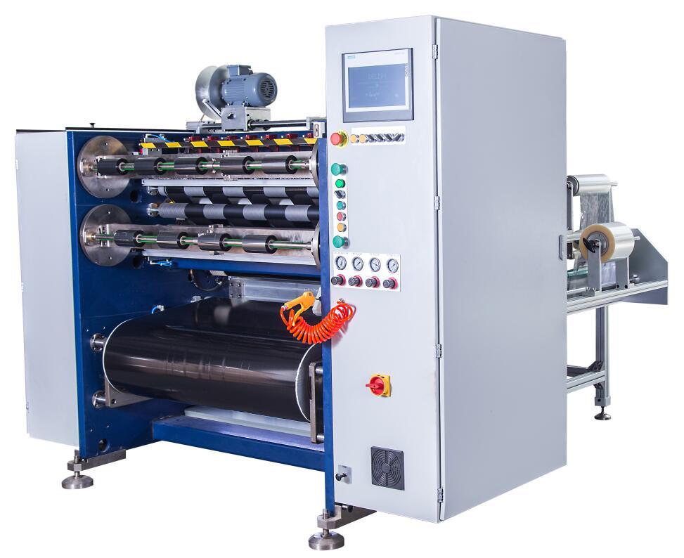 Manual TTR slitting machine RSDS4