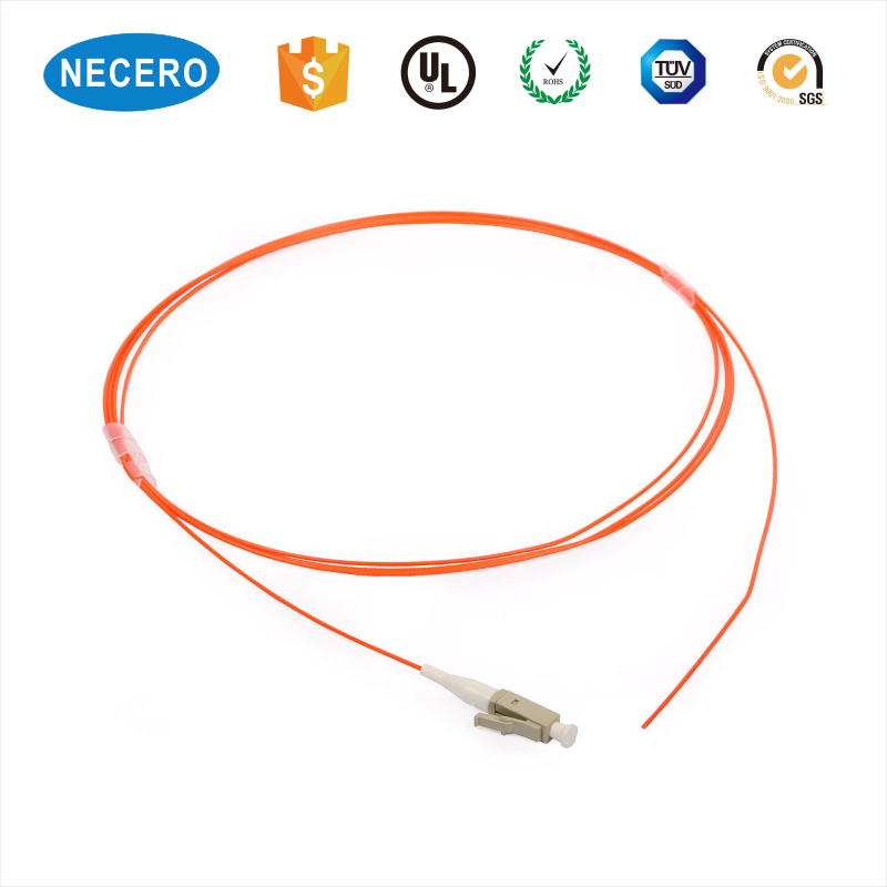 Single Core 0.9mm G652D Simplex LC/UPC Fiber Pigtail