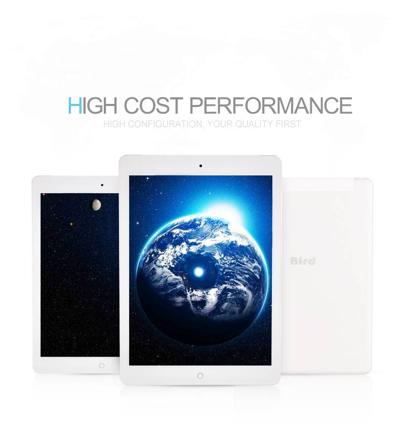 Android 4.4 MTK8382 quad core 9.7inch tablet pc, 3G one sim support 1GB RAM 16GB ROM dual camera 0.3