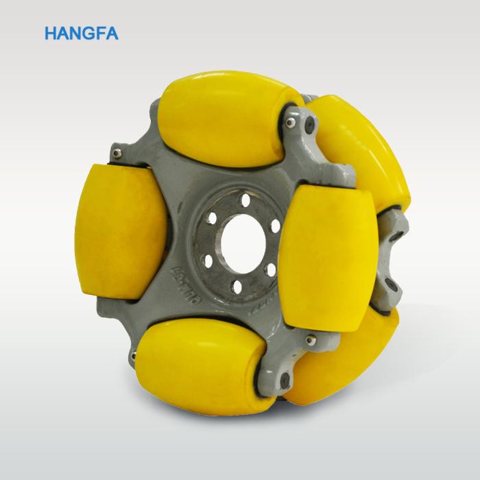 12 Inch 800kg Payload Robot Usage Omni Wheel