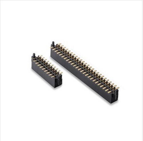Computer connector 1.27mm female header,U shape terminal