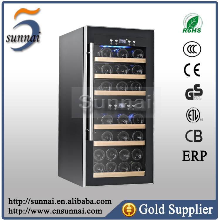 Electronic Temperature Control Commercial Wine Refrigerator