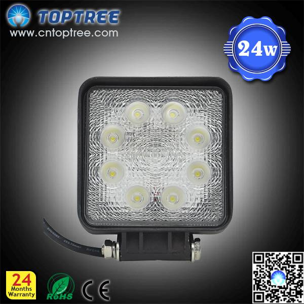 4inch 27W Epistar LED truck work light