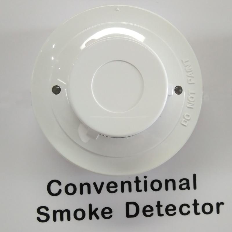 2 wire conventional smoke sensor detector fire alarm