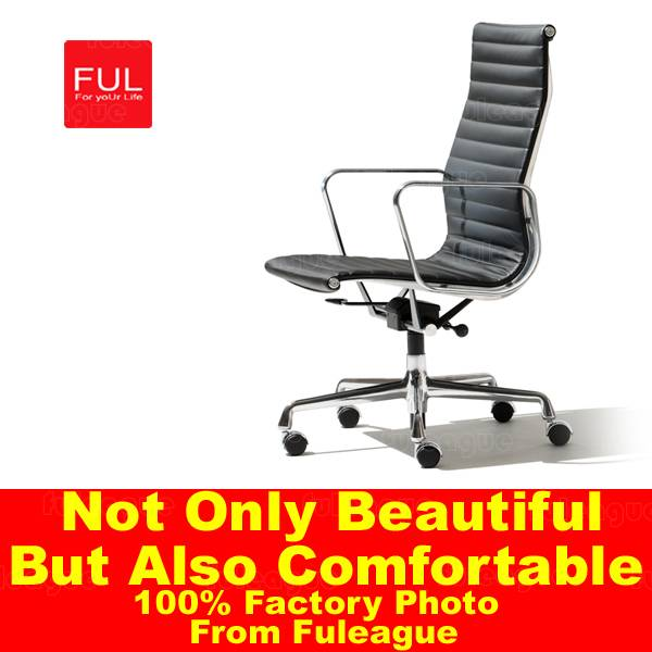Office furniture Leather Executive Chair Eames High Back Office Chair from Fuleague