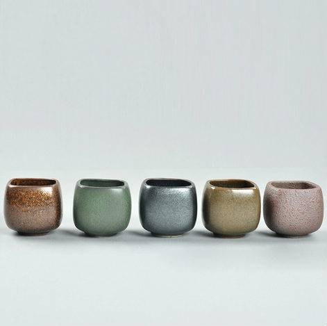 RoughPottery Square Caliber Cup