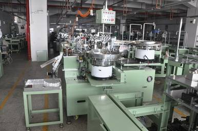 Fully Automatic Assemblying Machine for Aluminum Electrolytic Capacitors (Z2280)