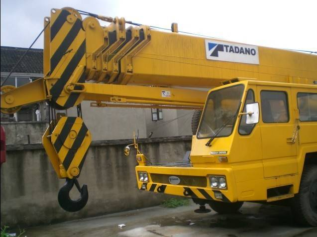 Used Tadano japan mobile Crane +8618221102858
