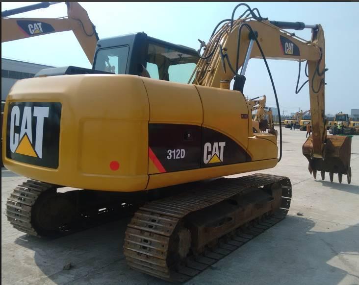 Used Japan Original CAT 312DL Crawler Excavator