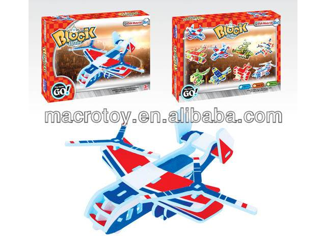 foam toy blocks helicopter 4pcs