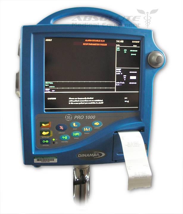 DINAMAP PRO 1000 Vital Signs Patient Monitor