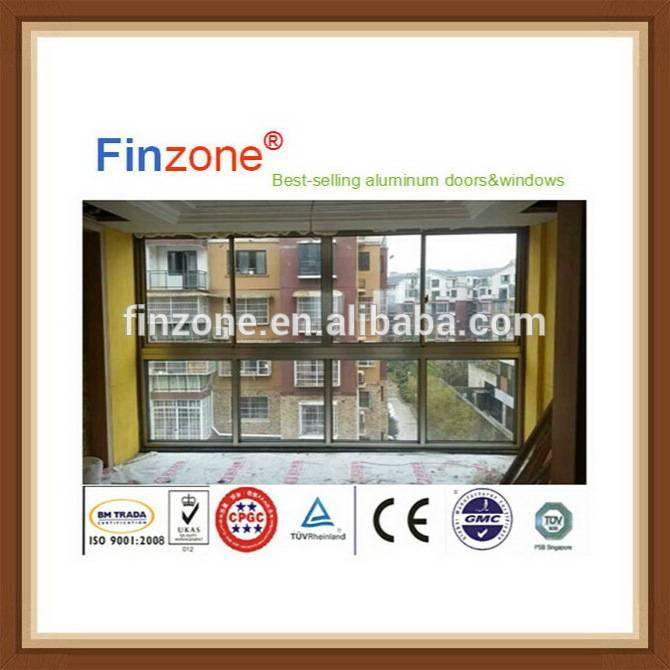 Design promotional prefabricated aluminum doors and windows