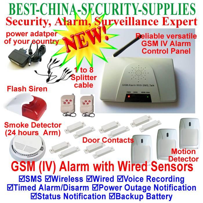Gsm SMS Wireless Alarm System,gsm wireless alarm ,wireless alarm system, wireless security alarm, in
