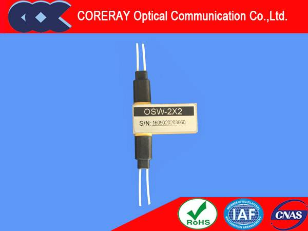 2x2 optical switch with Single Mode