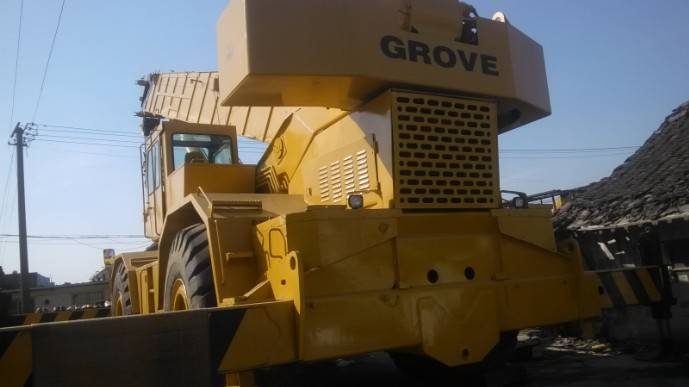 Used Grove 80ton  crane in high quality for sale