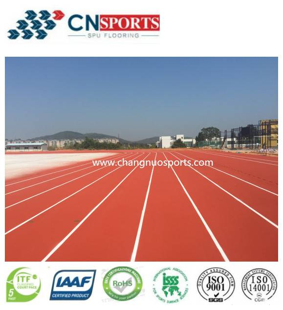 CN-S05 PU Runway Flooring--Breathable, Permeable,Sandwich