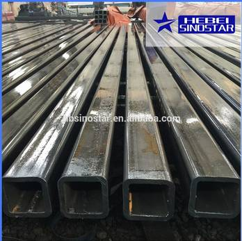High Quality Hot Rolled Steel Square Pipe from China