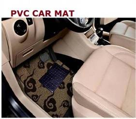 Black Rubber Car Floor Mats/2015 New Design Car Mat