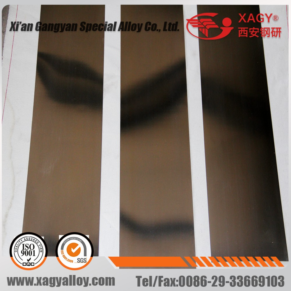 ASTM A801 standard hiperco27 alloy 1J27
