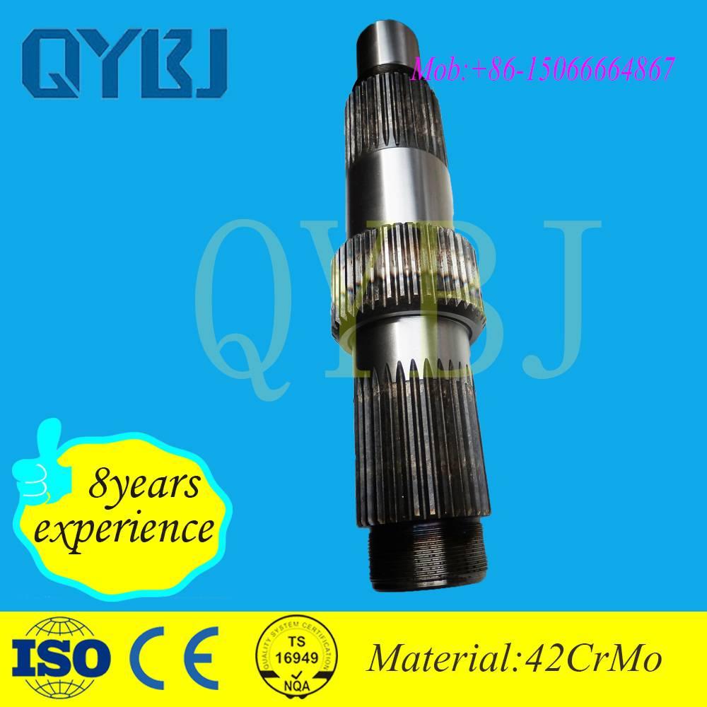 Jinan OEM autoparts Trade Assurance drive shaft parts heavy truck interaxle boggie input shaft
