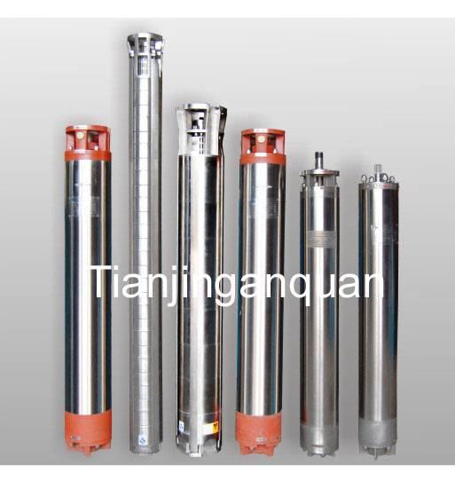 Submersible borehole pump (deep well water pump)