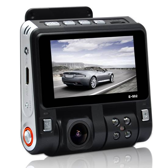 Car DVR with SQ solution, 1 million pixels, 170 degree view angle
