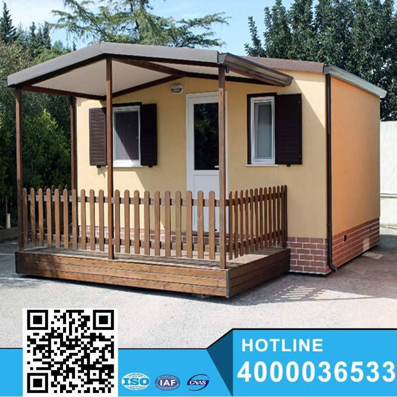 Beautiful Steel Structure Moblie Home made in china