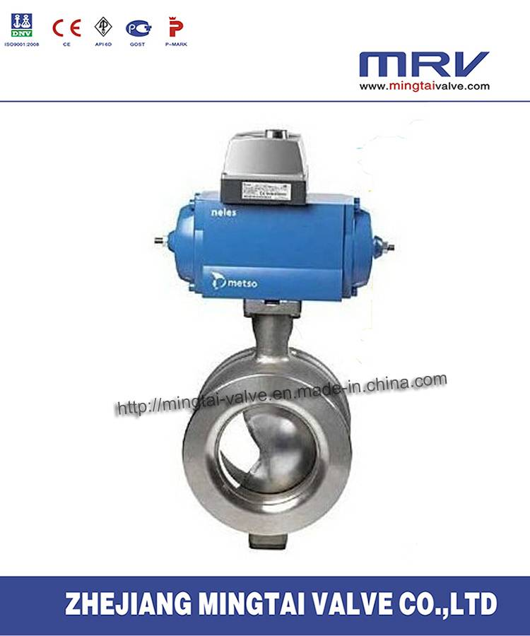 Stainless Steel Wafer V Type Ball Valve