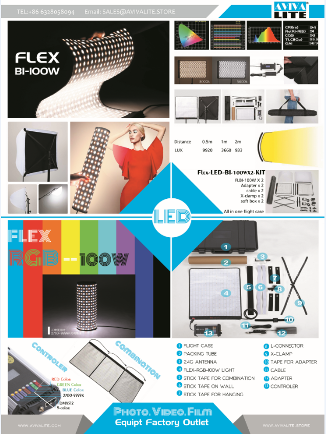 LED Flex BI 100W