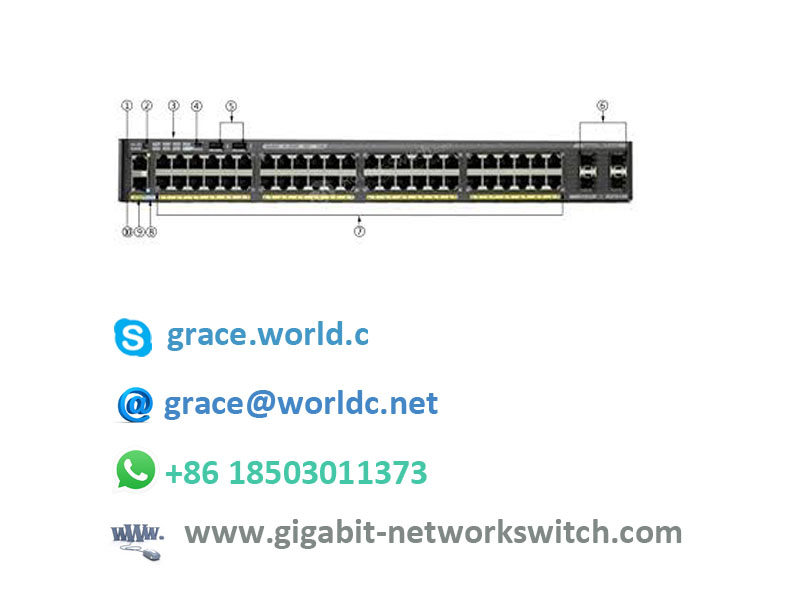 Sell CISCO switch WS-C2960X-48FPS-L