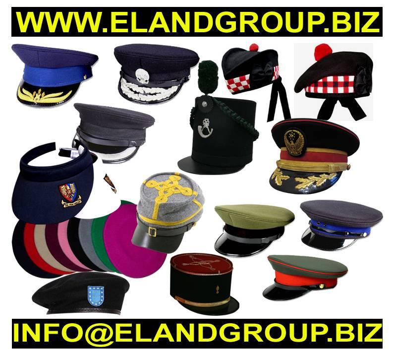 Military Uniform Peak cap Accessories Supplier