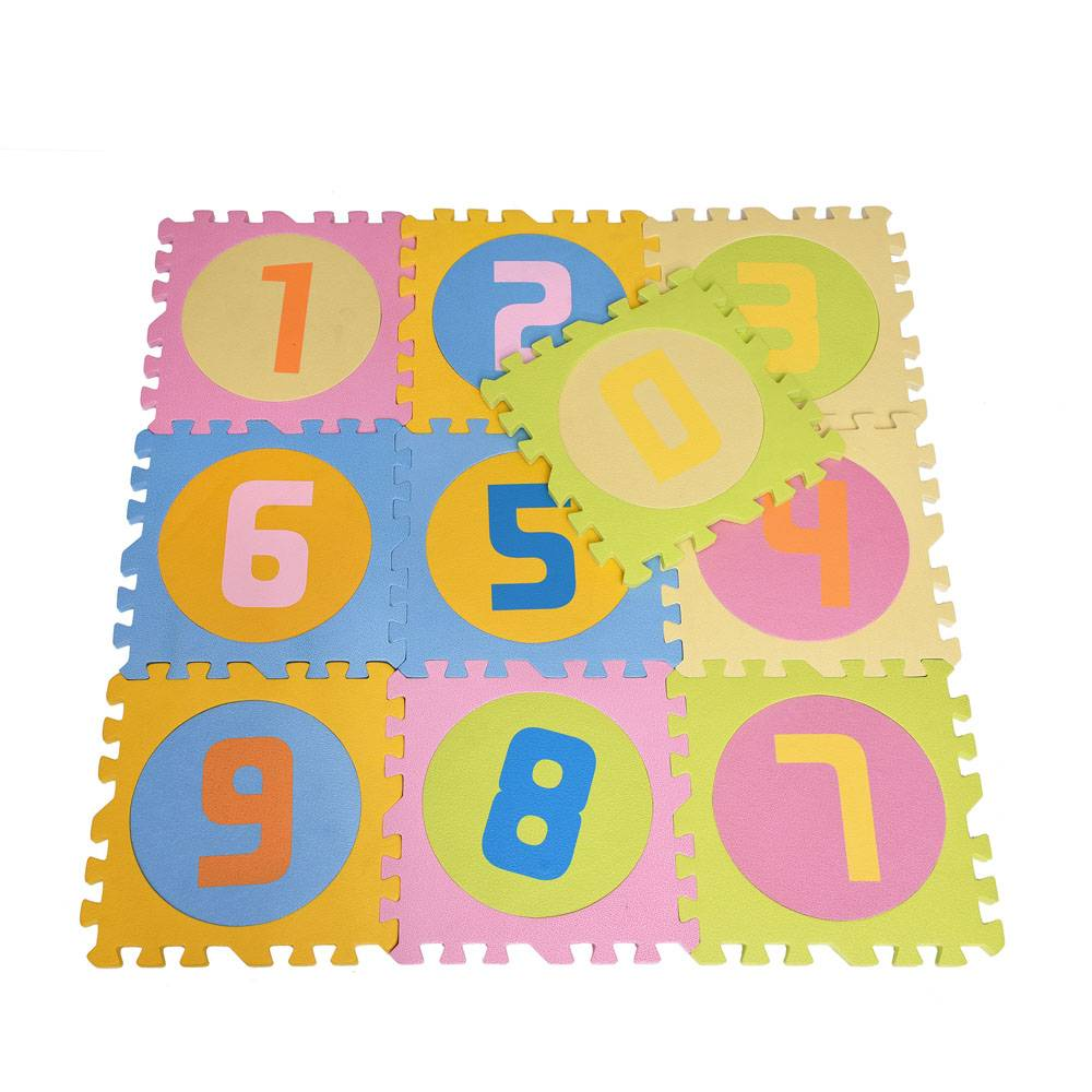 B012 education number puzzle foam mat