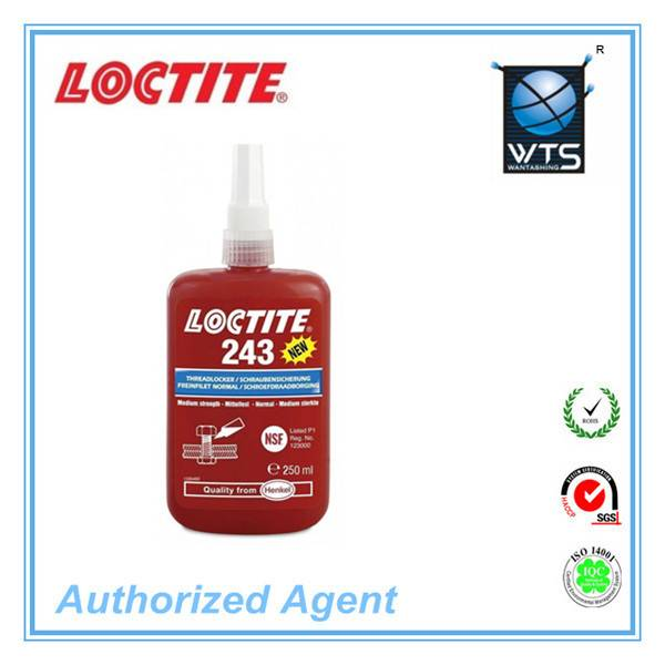 henkel loctite 243 threadlocker anaerobic sealant construction chemical sealant