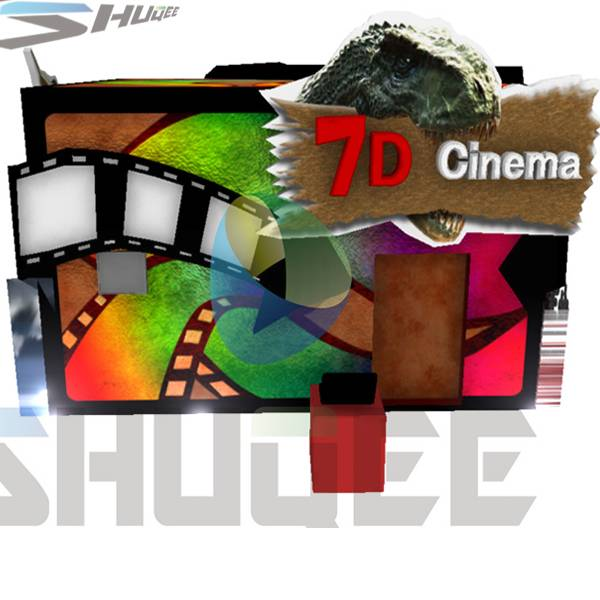 New special mobile 7D cinema,7D cinema system