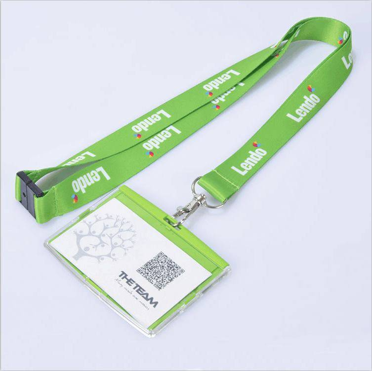 New Custom Polyester Neck Straps Lanyards and Card Holder