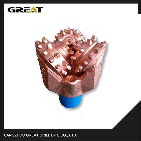 oil and gas drilling api standard TCI tricone drill bit for oil and water well